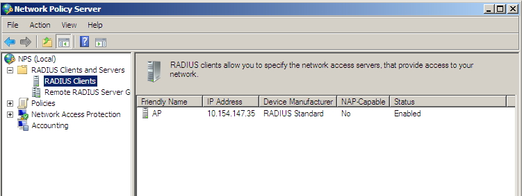Windows Server 2008: How to setup RADIUS Server   IT Blog