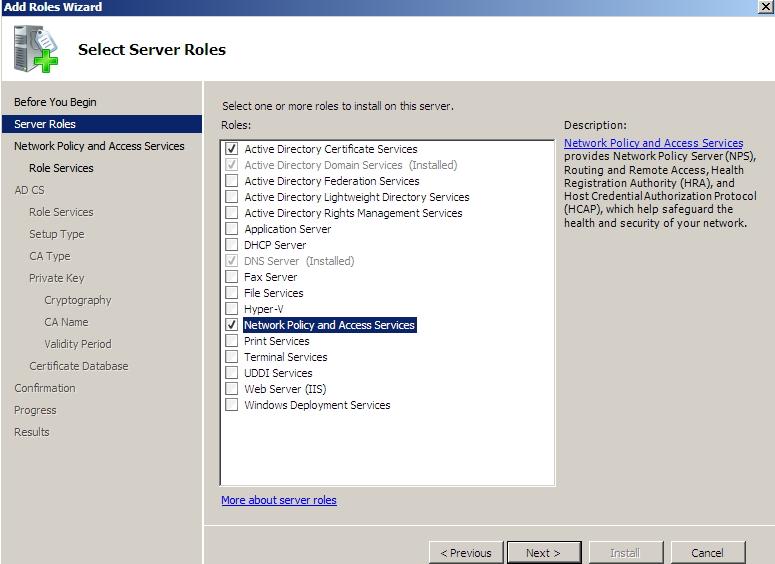 Windows Server 2008 How To Setup Radius Server It Blog